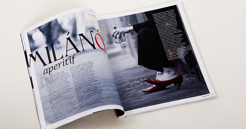 Crossroad Magazin komplett grafikai kivitelez�se | Crossroad Magazin komplett grafikai kivitelez�se