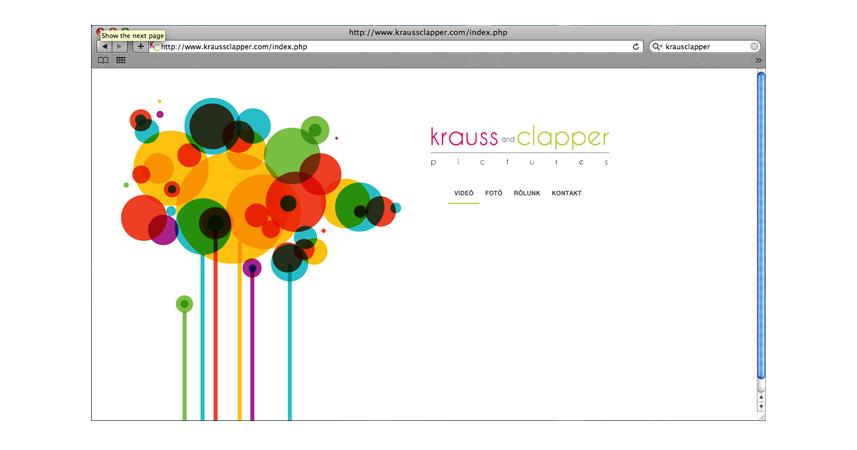 Krauss & Clapper weboldal tervez�s �s kivitelez�s | Weboldal tervez�s �s kivitelez�s